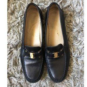 Salvatore Ferragamo Slip on leather loafers